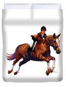Equestrain Duvet Cover