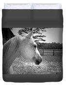 Equine Profile Duvet Cover