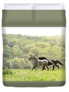 Equines For Freedom Duvet Cover