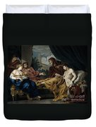 Erasistratus, Ancient Greek Physician Duvet Cover