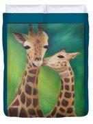 Erina's Giraffes Duvet Cover