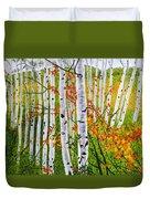 Erin's Birch Trees Duvet Cover