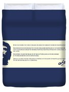 Ernesto Che Guevara Speaking 3 Duvet Cover