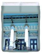 Ernst Fuchs Vienna Villa Duvet Cover