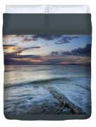 Eroded By The Tides Duvet Cover