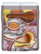 Eroica Britannia And Bakewell Pudding On Pink Duvet Cover