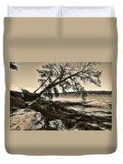 Erosion - Anselized Duvet Cover