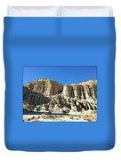 Erosion's Beauty Duvet Cover