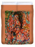 Erotic Nude 1 Duvet Cover