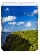 Erris Head, County Mayo, Ireland Duvet Cover