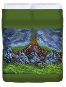 Eruption Duvet Cover