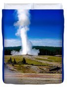 Eruption Duvet Cover