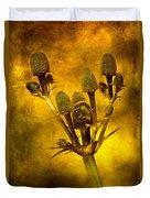 Eryngium Gold Duvet Cover