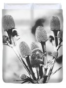 Eryngium #flower #flowers Duvet Cover