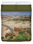 Escalante River Basin Duvet Cover