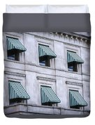 Escambia County Courthouse Windows Duvet Cover