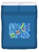 Esoteric Mind Energy Converging  Duvet Cover