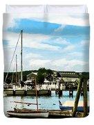 Essex Ct Marina Duvet Cover