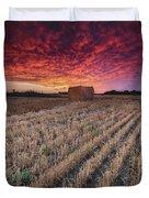 Essex Hay At Sunrise Duvet Cover
