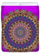 Estate Jewels Mandala No. 2 Duvet Cover
