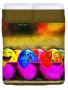 Ester Eggs - Pa Duvet Cover