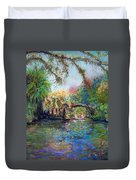 Estero River At Koreshan Duvet Cover