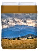 Estes Park From Glen Haven 3 Duvet Cover