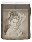 Esther Williams, Vintage Hollywood Actress Duvet Cover