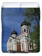 Estonia Church  Duvet Cover