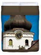 Estonian Baroque Onion Dome Duvet Cover