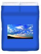 Estuary Skyscape Duvet Cover