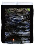 Eternal Flame Falls Duvet Cover