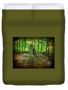 Eternal Resting Place Duvet Cover
