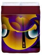 Eternity Clock Duvet Cover