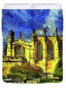 Eton College Chapel Art Duvet Cover