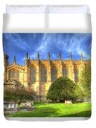 Eton College Chapel Duvet Cover