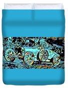 Ettore's Dream Cars Duvet Cover