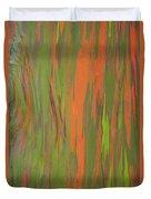 Eucalyptus Abstract Duvet Cover