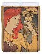 Eugene Grasset Duvet Cover