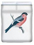 Eurasian Bullfinch Artwork Duvet Cover