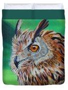 Eurasian Eagle-owl Duvet Cover