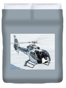 Eurocopter Ec130 With Fantastic Livery Duvet Cover