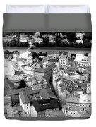 European Rooftops Duvet Cover