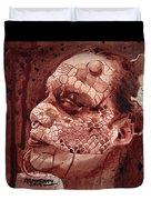 Eva Medusa - Lizard Woman Duvet Cover