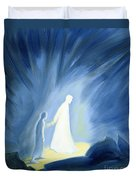 Even In The Darkness Of Out Sufferings Jesus Is Close To Us Duvet Cover