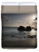 Evening At Sidna Ali Beach 1 Duvet Cover