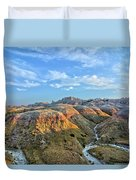 Evening At Yellow Mounds 2 Duvet Cover