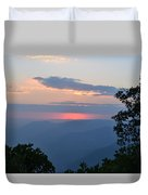 Evening At Yosemite  Duvet Cover