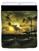 Evening Beach Duvet Cover