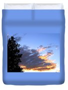 Evening Color Duvet Cover